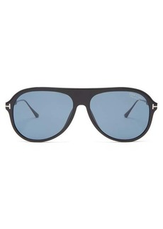 Tom Ford Eyewear Nicholai acetate sunglasses