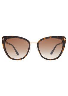 Tom Ford Eyewear Simona cat-eye acetate sunglasses
