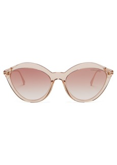 Tom Ford Eyewear Slater cat-eye acetate sunglasses