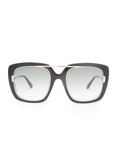 Tom Ford Eyewear Square-frame acetate sunglasses