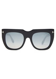 Tom Ford Eyewear Thea-02 square-frame acetate sunglasses