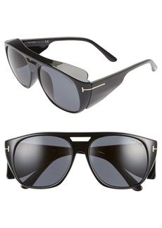 Tom Ford Fender 59mm Square Sunglasses