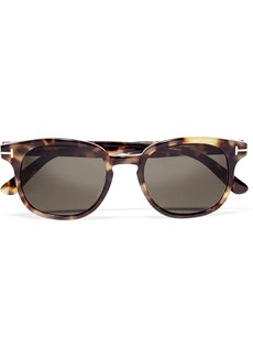 TOM FORD Frank wayfarer-style acetate sunglasses