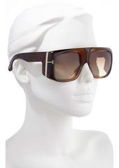 Tom Ford Gino 60mm Aviator Sunglasses