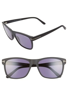 Tom Ford Giulio 59mm Square Sunglasses