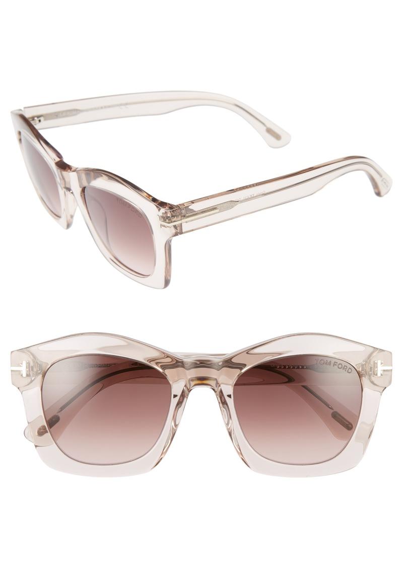 1a16e675fac2 Tom Ford Tom Ford  Greta  50mm Sunglasses