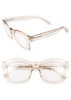Tom Ford 'Greta' 50mm Sunglasses