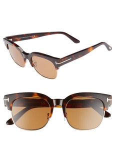 Tom Ford Harry 53mm Half-Rim Sunglasses
