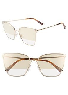 Tom Ford Helena 59mm Cat Eye Sunglasses