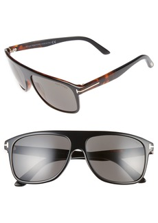 Tom Ford Inigo 59mm Flat Top Sunglasses