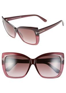 Tom Ford 'Irina' 59mm Sunglasses