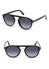 Tom Ford Ivan 54mm Polarized Aviator Sunglasses