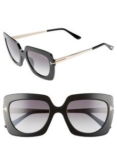 Tom Ford Jasmine 53mm Sunglasses