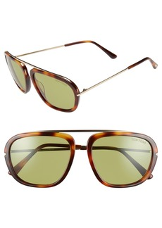 Tom Ford 'Johnson' 57mm Sunglasses