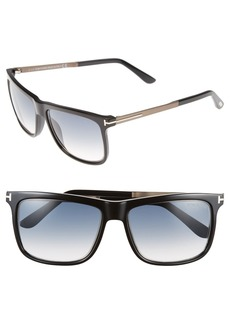 Tom Ford 'Karlie' 57mm Retro Sunglasses