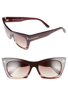 Tom Ford Kasia 55mm Cat Eye Sunglasses