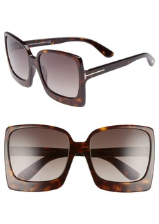 Tom Ford Katrine 60mm Sunglasses