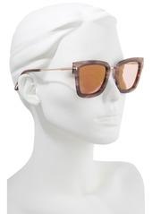 e396c1e667 Tom Ford Tom Ford Lara 52mm Mirrored Square Sunglasses