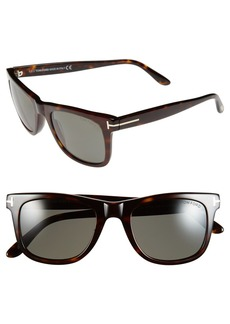 Tom Ford Leo 52mm Polarized Sunglasses