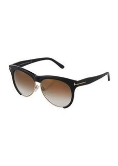 TOM FORD Leona Dual-Rimmed Sunglasses