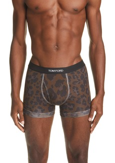 Tom Ford Leopard Print Boxer Briefs