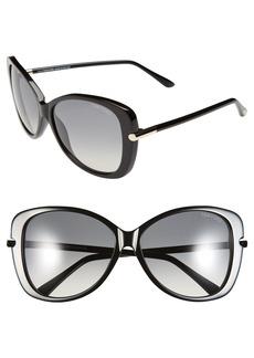 Tom Ford 'Linda' 59mm Sunglasses