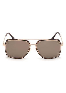 Tom Ford Lionel 60mm Navigator Sunglasses