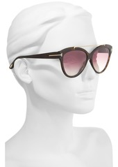 729e99c3976f5 Tom Ford Livia 58mm Gradient Butterfly Sunglasses Tom Ford Livia 58mm  Gradient Butterfly Sunglasses ...