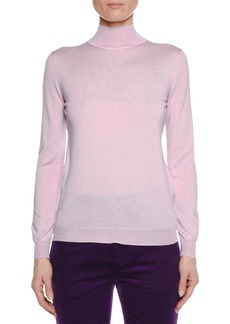 TOM FORD Long-Sleeve Turtleneck Fine Cashmere Sweater