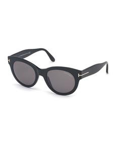 TOM FORD Lou Round Acetate Sunglasses