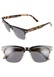 Tom Ford Louis 55mm Polarized Sunglasses