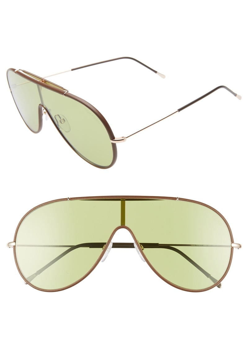 Tom Ford Mack 137mm Shield Sunglasses