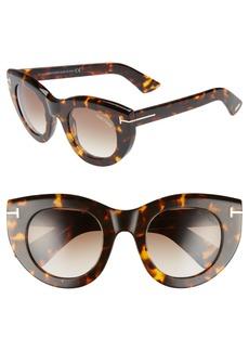 Tom Ford Marcella 48mm Cat Eye Sunglasses