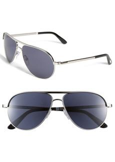 Tom Ford 'Marko' 58mm Metal Aviator Sunglasses