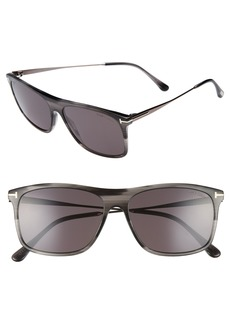 Tom Ford Max 57mm Sunglasses