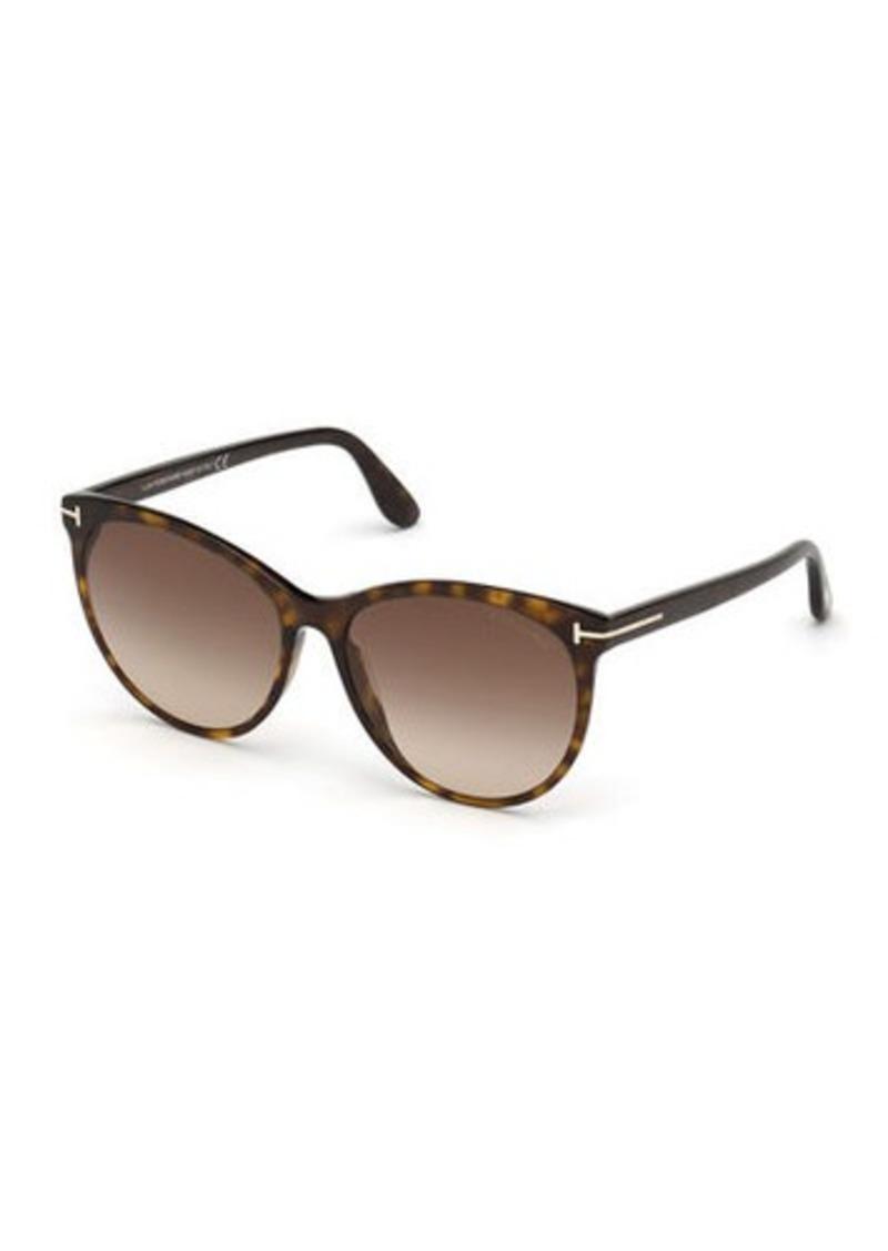 TOM FORD Maxim Cat-Eye Acetate Sunglasses