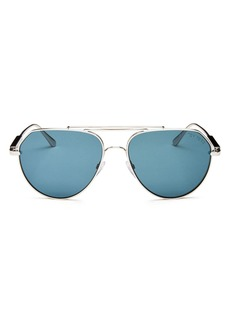 Tom Ford Men's Andes Aviator Sunglasses, 61mm