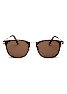 Tom Ford Men's Beau Square Sunglasses, 53mm
