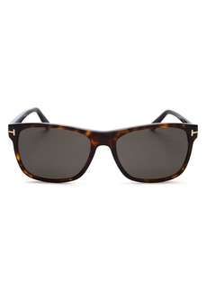 Tom Ford Men's Classic Polarized Square Sunglasses, 59mm