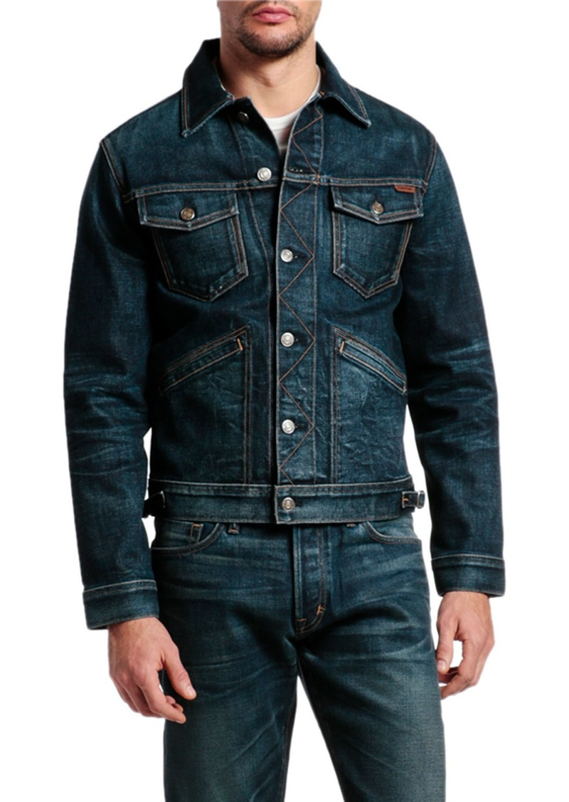 TOM FORD Men's Denim Jacket