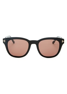 Tom Ford Men's Eugenio Square Sunglasses, 52mm