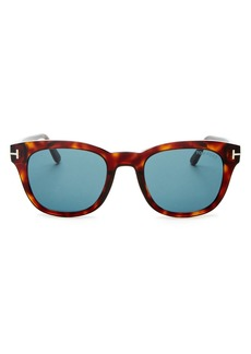 Tom Ford Men's Eugenio Square Sunglasses, 52mm