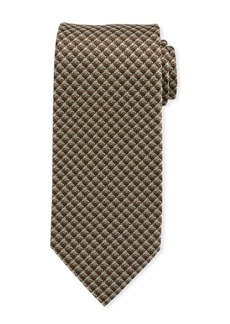 TOM FORD Men's Geometric Silk Tie