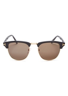 Tom Ford Men's Henry Square Sunglasses, 51mm