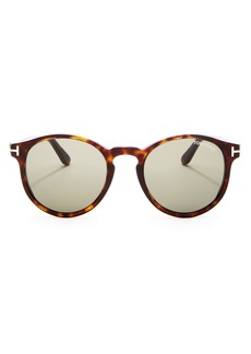 Tom Ford Men's Ian Round Sunglasses, 51mm