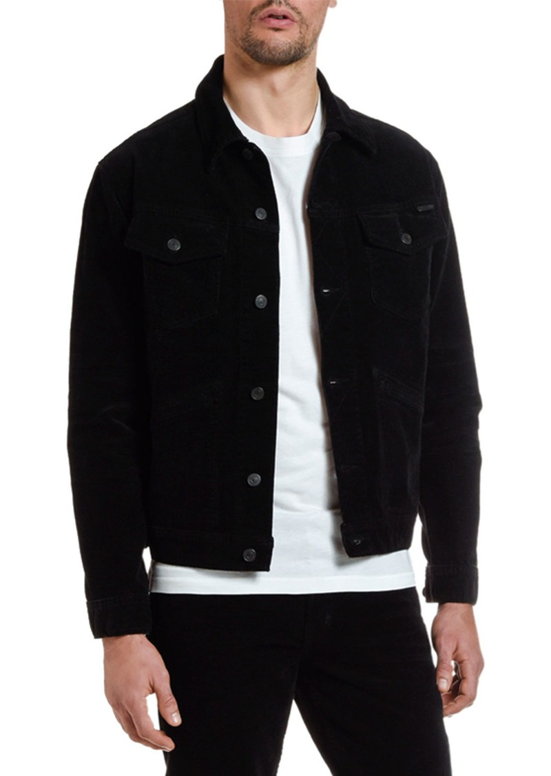 TOM FORD Men's Iconic Corduroy Denim Jacket