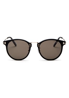 Tom Ford Men's Jamieson Round Sunglasses, 51mm