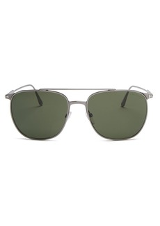 Tom Ford Men's Kip Metal Aviator Sunglasses, 58mm
