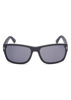 Tom Ford Men's Mason Polarized Square Sunglasses, 58mm