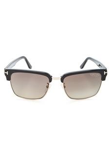 Tom Ford Men's Polarized River Square Sunglasses, 57mm
